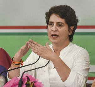 उप्र विधानसभा में 40 प्रतिशत टिकट महिलाओं को देगी कांग्रेस :प्रियंका गांधी